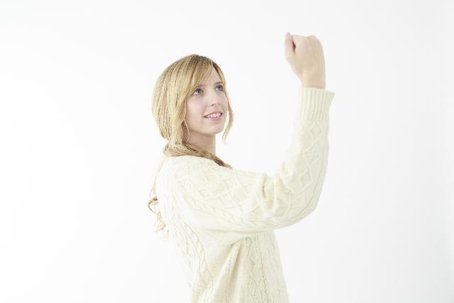 ネット婚活を頑張る女性